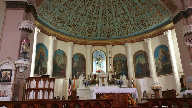 Saint Mary of Victories Catholic Church - Architecture