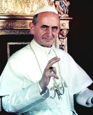 His Holiness Pope Paul VI