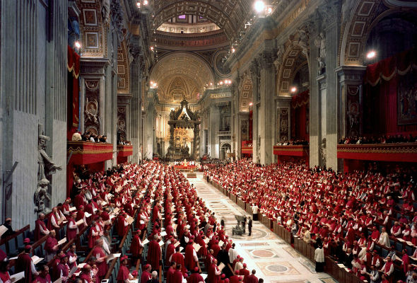 The Second Vatican Council in Session