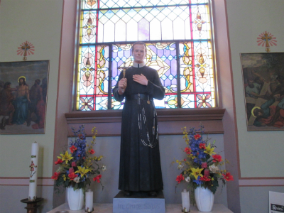 Side Altar of Blessed Francis Xavier Seelos