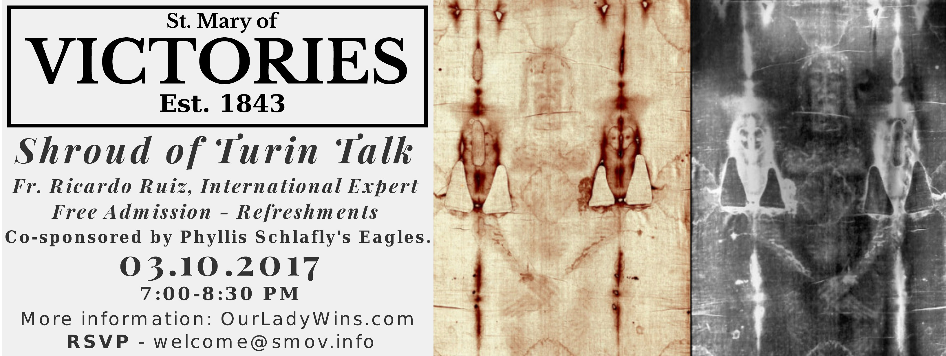 Shroud of Turin Talk